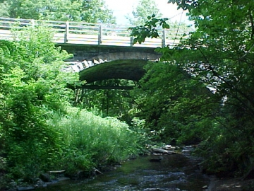 Bridge over the Sugar Hollow Brook