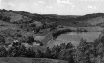 Bird's Eye View of Martin Family Farm and Cutter Pond