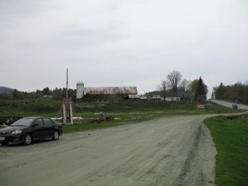 Mountain Farm along Route 100