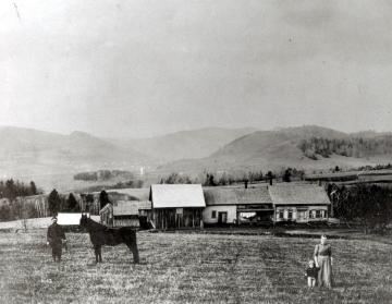 A family and their farm
