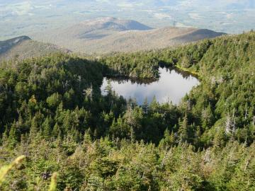 Bird's Eye View Lake of the Clouds