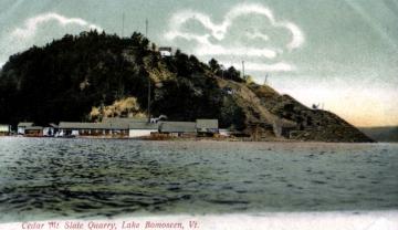 Cedar Mtn. Slate Quarry Lake Bomoseen