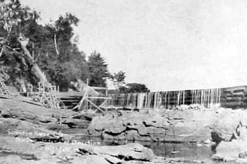 Dam and Falls on the Missisquoi