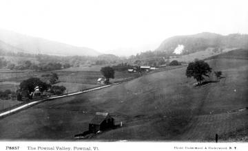 Bird's Eye View of Pownal Valley