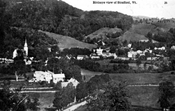 Bird's Eye View of Strafford