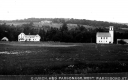 Church, Parsonage, and Open Field