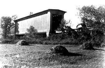 Covered Railroad Bridge