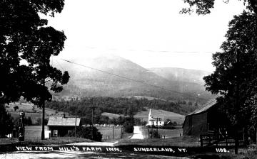 View from Hill's Farm Inn