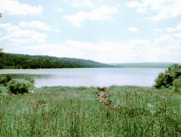 Big Averill Lake from Lakeside Inn veranda
