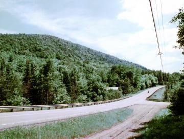 Averill Mountain and Motorcycle