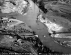 Aerial Photograph of Winooski River after Flood