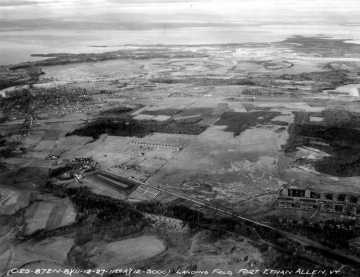 Aerial Photograph of Fort Ethan Allen