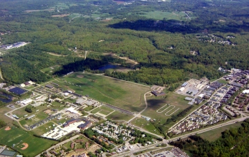 Aerial Photograph of Colchester