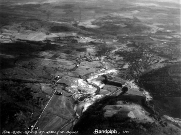Aerial Photograph of the Third Branch of the White River