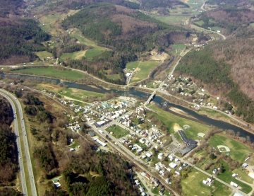 Aerial Photograph of South Royalton