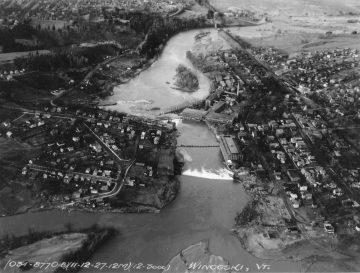 Aerial Photograph of the Winooski River