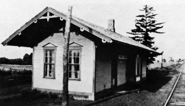 Essex Center Train Station