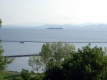 Lake Champlain from Battery Park