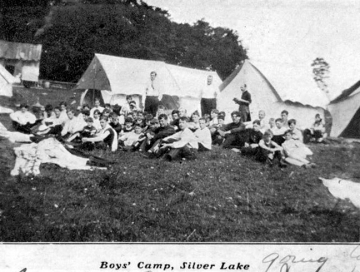 Boys' Camp at Silver Lake (Franklin Pond)