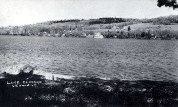 View of Lake Elmore from the Shoreline