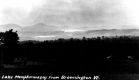 Distant View of Lake Memphremagog