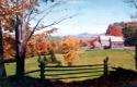 Fall Foliage on Washington Farm