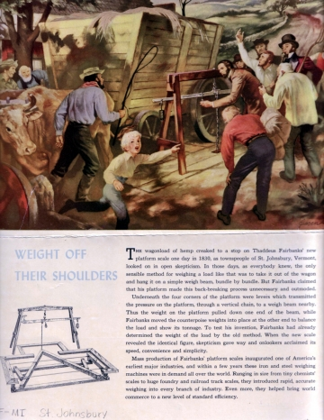 Advertisement for Fairbanks Scale
