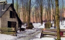 A Maple Sugar Camp