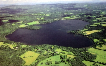 Aerial View of Caspian Lake, Viewed from the North