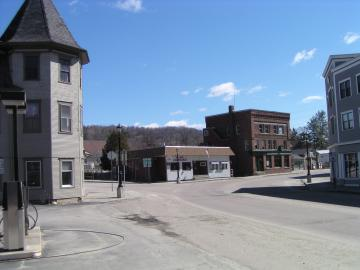 McLoud Block on Main Street in Hardwick