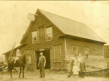 B. E. Bruce Blacksmith Shop