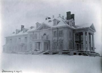 Burklyn Hall Construction 1