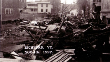 1927 Flood Damage, Richforrd