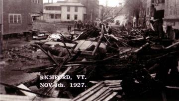 1927 Flood Damage, Richforrd