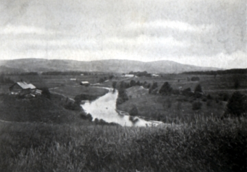 Black River- Kidder Hill in Distance