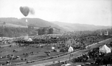 Balloon ascent at Caledonia County Fairground