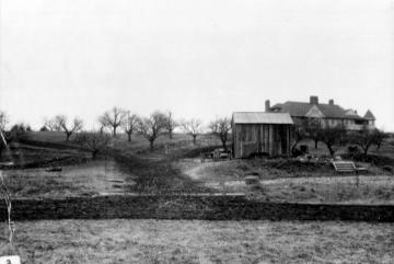 Construction of Shelburne House at Shelburne Farms