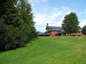 Reshoot:  Construction of Shelburne House at Shelburne Farms