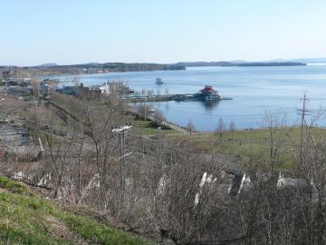 A View of the Burlington Waterfront