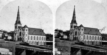 College Street Congregational Church and College Street Ravine