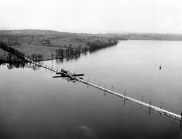 Aerial Photograph of Drawbridge