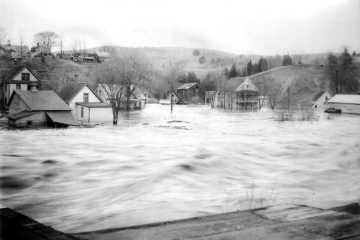 Flooding on Concord Avenue