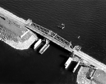 Aerial Photograph of Bridge