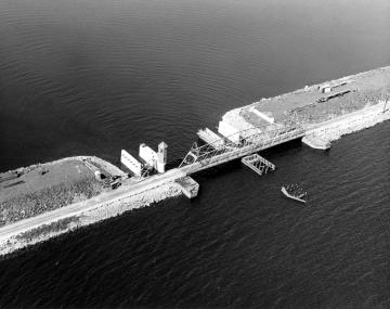 Aerial Photograph of Bridge