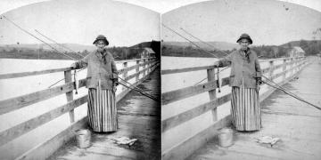 Lake Memphremagog's Fishwoman