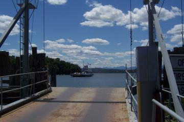 A View of the Ferry, Reshoot