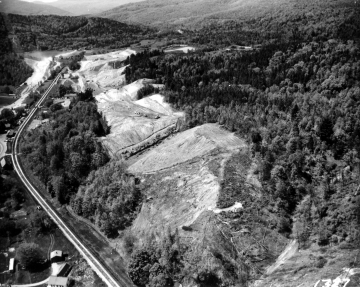 Aerial Photograph of Road Construction