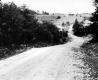 Gravel Road Headed Downhill