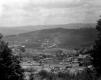 Birdseye view of granite town