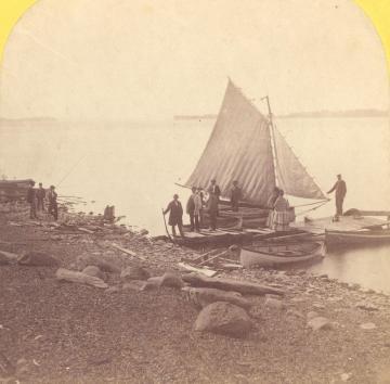 """Sea Bird"" at Hathaway Point"